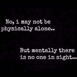 alone-feeling